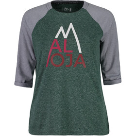 Maloja LüsaiM. 3/4 Sleeve All Mountain Jersey Damen stone pine